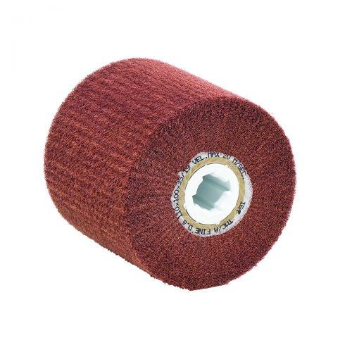 ruote lamellari in tessuto non tessuto con foro chiavetta 19mm