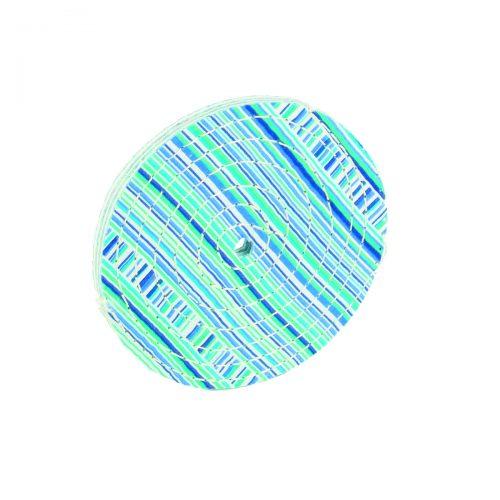 dischi in cotone trapuntati