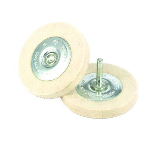Utensile da utilizzare a bassi giri con smerigliatrici diritte per lucidare. Particolarmente indicato con paste diamantate.