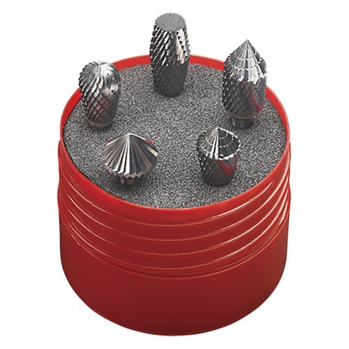set frese in metallo duro - combi - 5pz