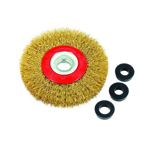 spazzole circolari in filo ondulato