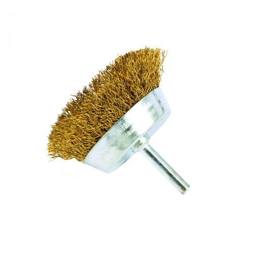 spazzole in filo a tazza con gambo
