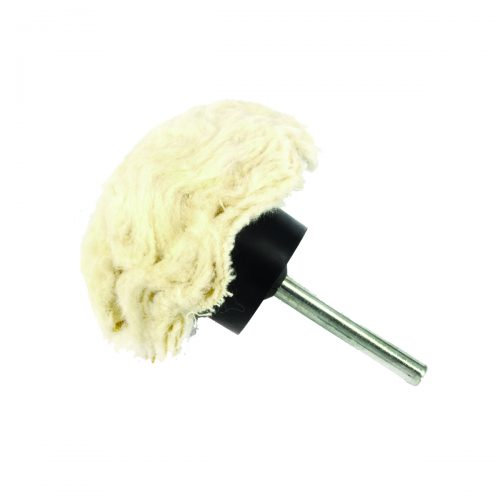 spazzole a fungo in cotone con gambo