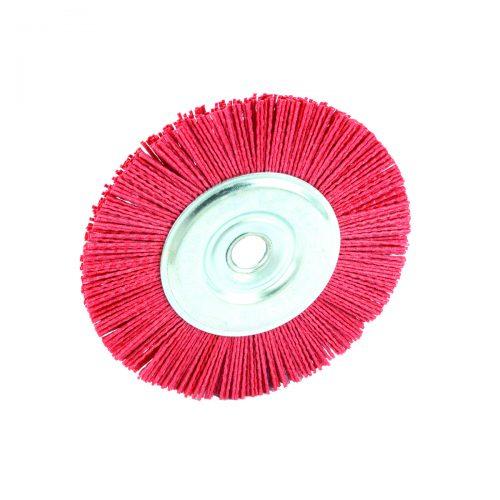 spazzole circolari in nylon con foro
