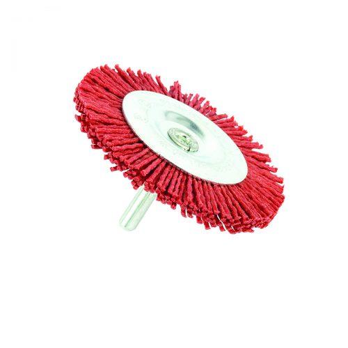spazzole circolari in nylon con gambo