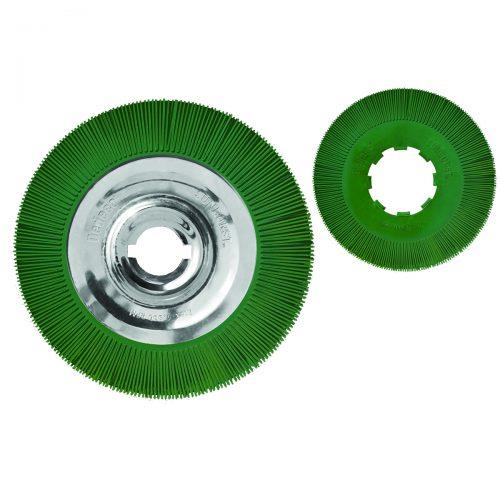 spazzole radiali di grande diametro 250mm 300mm
