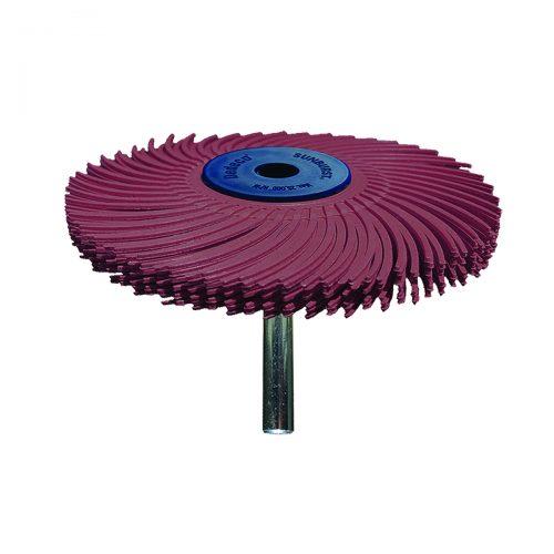 spazzole radiali con gambo 6mm