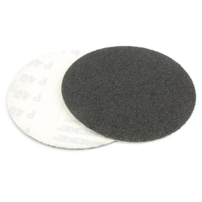 dischi velcrati in carta abrasiva al carburo di silicio