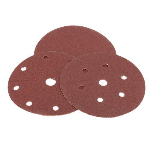dischi velcrati in carta abrasiva peso e