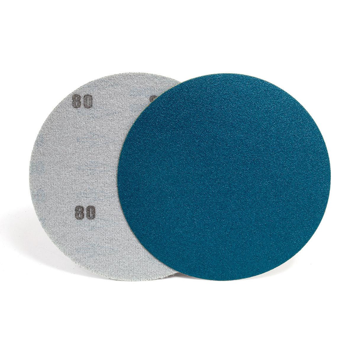 dischi velcrati in tela allo zirconio